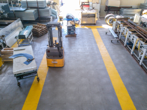 Модульные ПВХ покрытия для производства