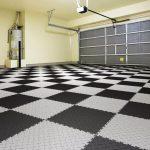 Модульная ПВХ плитка для гаража