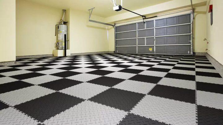Модульные ПВХ покрытия для гаража