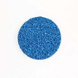 Резиновая крошка EPDM синяя