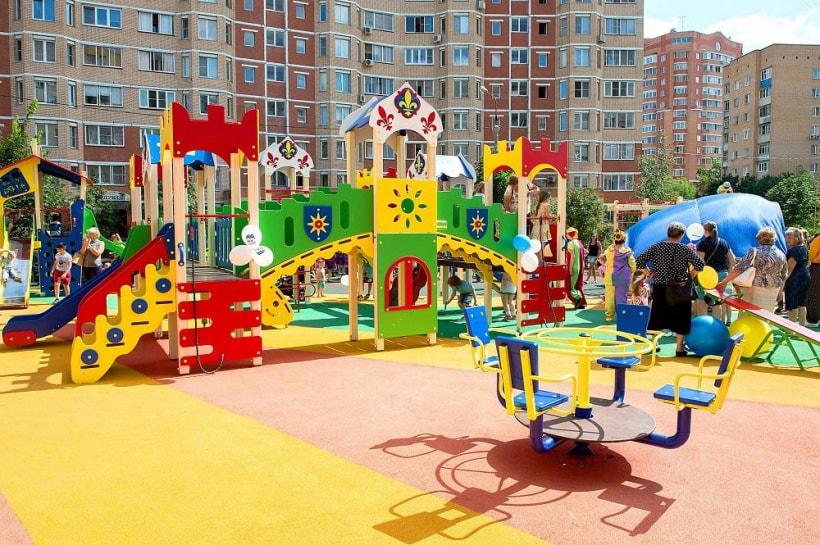 Детская площадка покрытие по ГОСТ