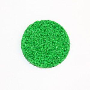 Резиновая крошка EPDM зеленая