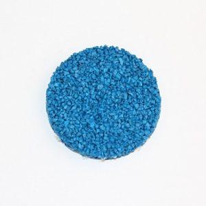 Резиновая крошка EPDM голубая