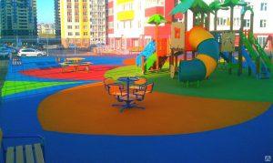 Покрытие для детских площадок в Костроме