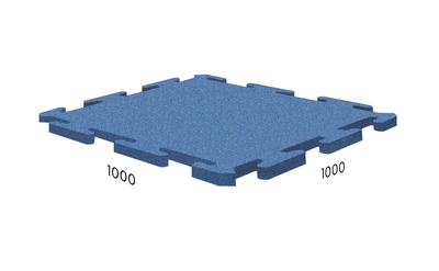 Резиновая плитка Rubblex Ice