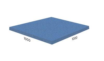 Резиновая плитка - цена за м2