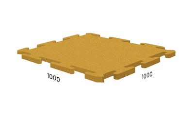 Модульное резиновое покрытие купить