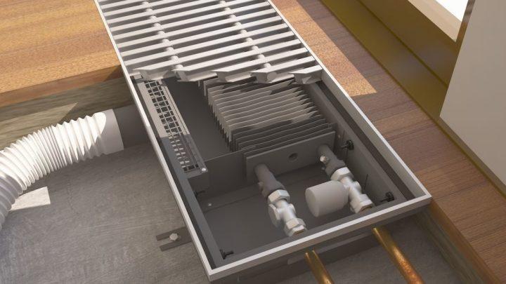 Водяные тепловые конвекторы