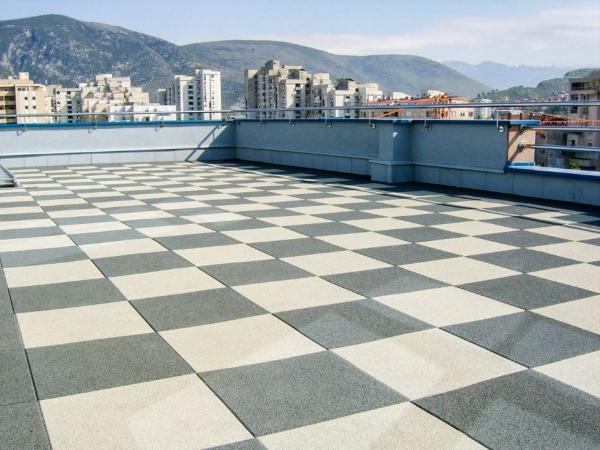 Резиновая плитка Rubblex Roof