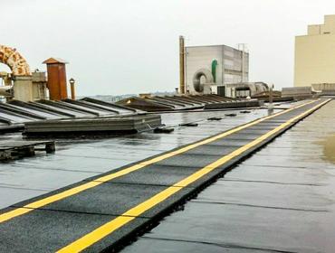 Резиновая плитка для крыши