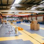 Резиновая плитка для складских помещений