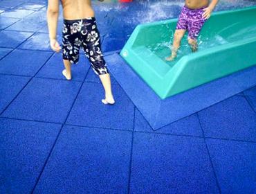 Резиновая плитка Rubblex Pool