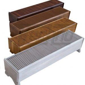 Конвектор напольный дизайн Techno Vita Wood
