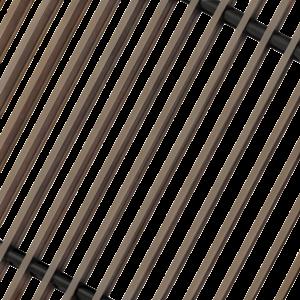 Решетка конвектора декоративная коньяк