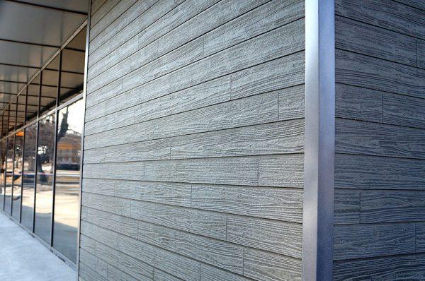 Планкен фасадная доска МПК Titan
