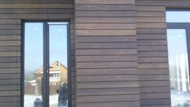Фасадный сайдинг из ДПК