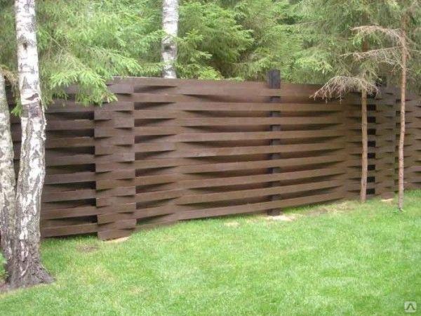 Забор для дачи варианты