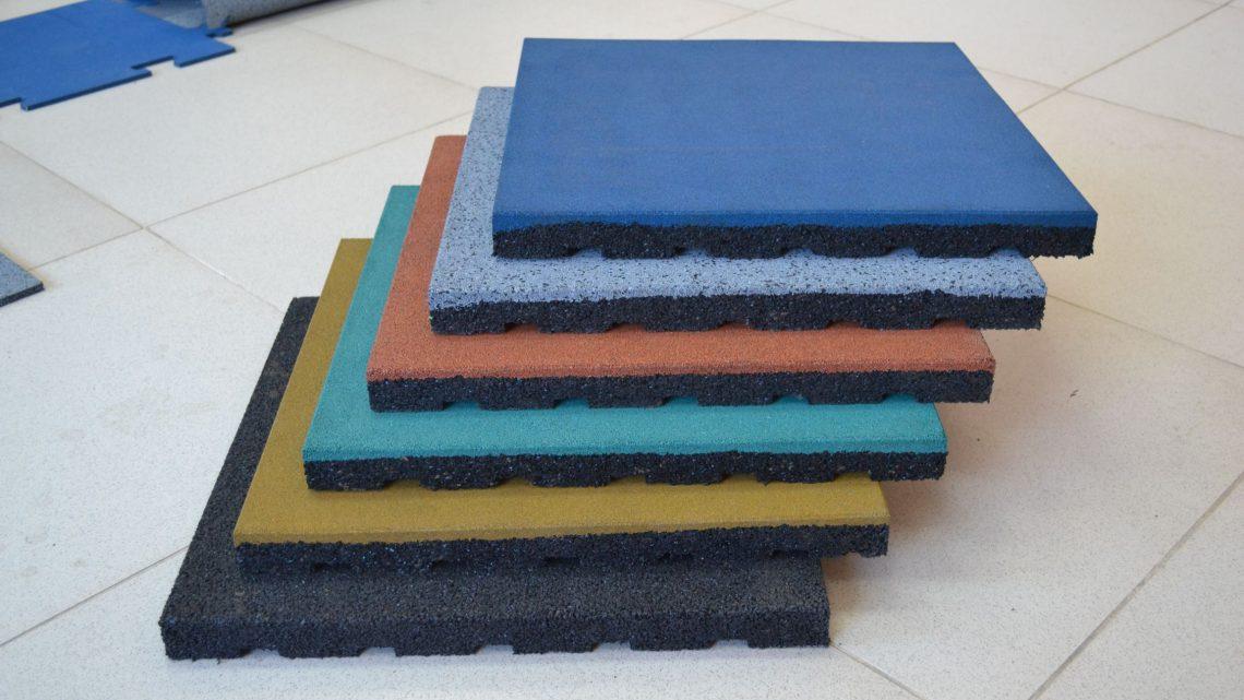 Резиновая плитка от производителя