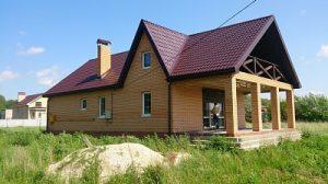 Коттеджный посёлок Малиновка строительство дома