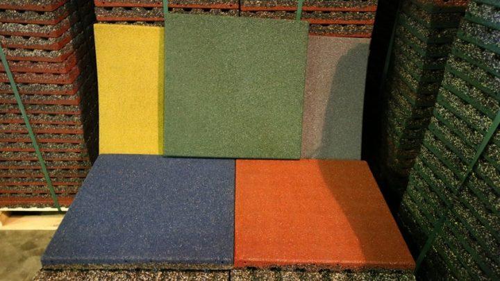 Резиновая плитка производство и свойства
