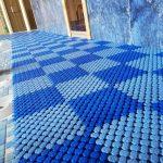 Резиновое покрытие для сауны бани